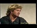 Capture de la vidéo Young George Michael Interview (Wham!) On Wogan Show (1984) Part 2