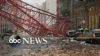 Deadly Crane Collapse in New York City