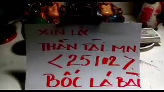 Xin Tài Lộc Thần Tài Thổ Địa Miền Nam 25/02 - Xin số thần tài thổ địa mong bà con tiếp tục may mắn.