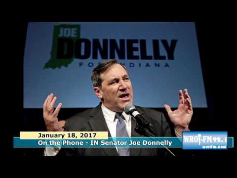 Indiana Senator Joe Donnelly Interview on WROi 1 18 17