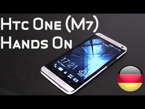 HTC One (M7) - Hands-on in Deutsch