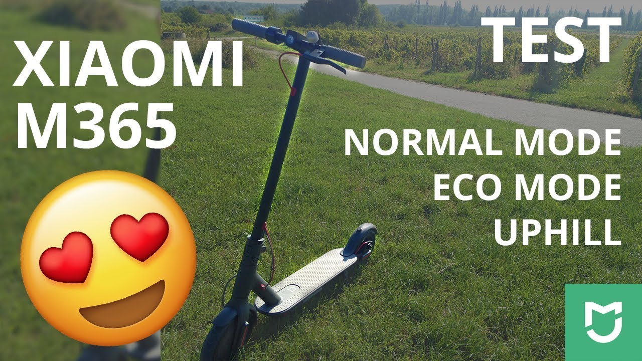 Xiaomi M365 | UPHILL, NORMAL mode, ECO mode | TEST