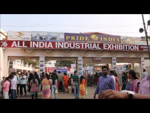 Exhibition Stall Makers In Hyderabad : Hyderabad nampally exhibition numaish 2016 all india industrial