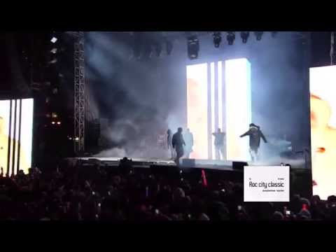 Kanye West, Travi$ Scott, Big Sean, 2 Chainz & Pusha T Live At The Roc City Classic