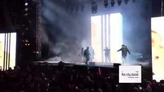 Kanye West, Travi Scott, Big Sean, 2 Chainz & Pusha T Live At The Roc City Classic