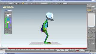3ds Max bip bip dance animation tutorial
