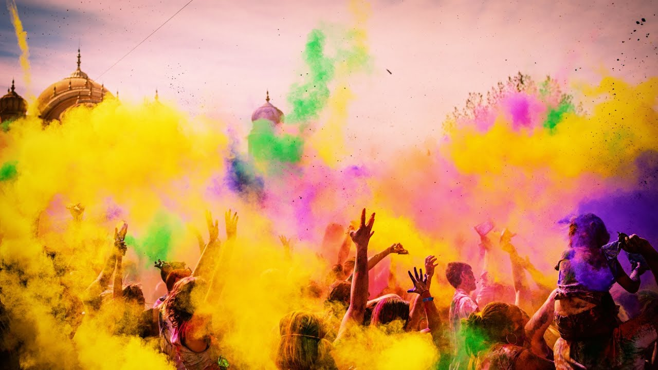 """Festival of Colors - """"Give Love"""""""