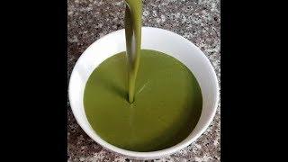 Крем Суп  из Шпината   Вегетарианские рецепты