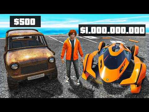 $500 vs. $1,000,000,000 Car In GTA 5 RP!