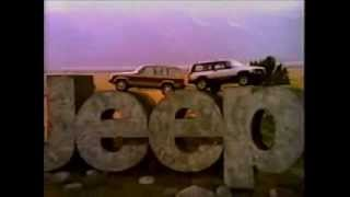 1983-11 Jeep Cherokee and Wagoneer Commercial