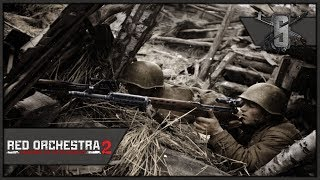 Best Soviet Sniper EVER, SVT-40 Scoped - Red Orchestra 2 - Soviet Marksman Gameplay