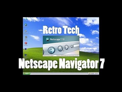 Retro Tech: Netscape Navigator 7