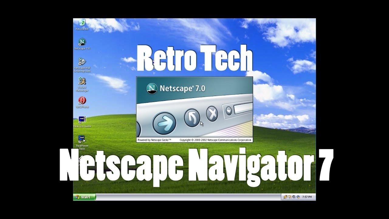NETSCAPE 7.0 TÉLÉCHARGER