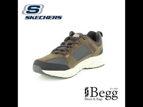 976e16b3eab Skechers Oak Canyon 51893 CHBK Charcoal trainers - YouTube