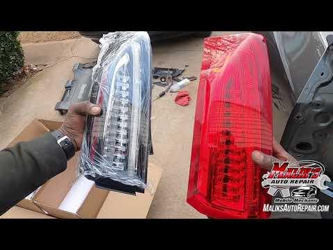 Custom Tail lights- replacement/EASY‼️How to- 2013-2018 Cadillac Ats 2.0 www.maliksautorepair.com