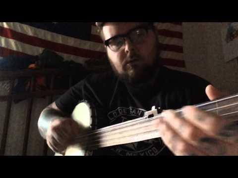 Breaking Up Christmas, fretless banjo, Round Peak