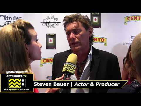 Suzanne DeLaurentiis Oscar View Party & Gala - Interview with Steven Bauer