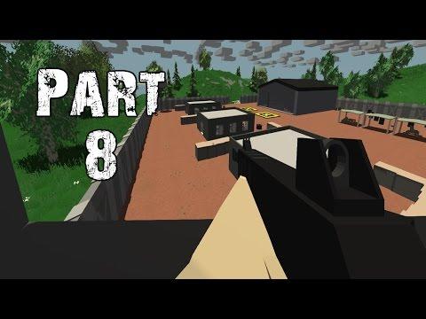 Unturned Gameplay Walkthrough Part 8 - Military Lockdown (PC)