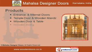 Entrance Door By Mahalsa Designer Doors Bengaluru