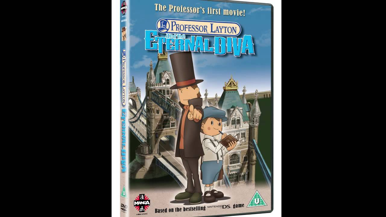The Three Guys Podcast Professor Layton And The Eternal Diva