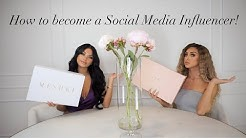 How To Become A Social Media Influencer? How To Work With Brands...
