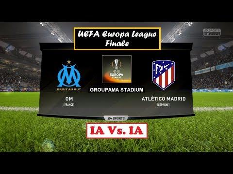 Olympique de Marseille - Atlético Madrid [FIFA 18] | UEFA Europa League 2017-18 (Finale) | IA Vs. IA