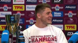 Harvey Norman Super Rugby AU Final: Reds press conference