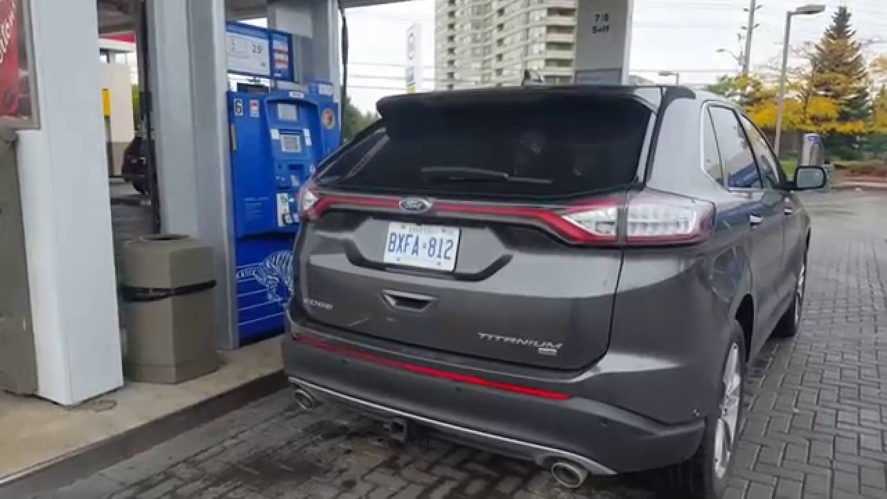 2017 ford edge fuel economy fuel costs youtube