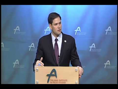 Rubio Delivers Foreign Policy Speech In South Korea