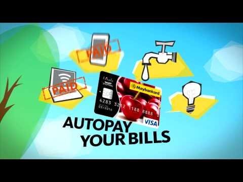 Maybankard Visa Debit Card Commercial