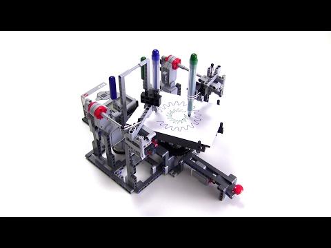 Circle Pattern Draw3r Lego Mindstorms