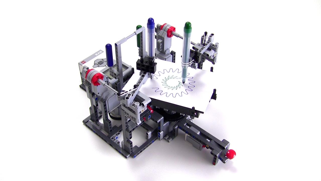 Circle Pattern Draw3r : LEGO MINDSTORMS
