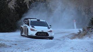 Sebastien Loeb - Daniel Elena Rallye Monte Carlo 2019 Hyundai I20 WRC Test essai