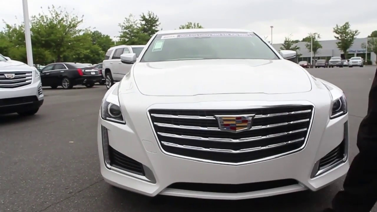 2018 CTS Luxury RWD 3.6L Auto RWD Review