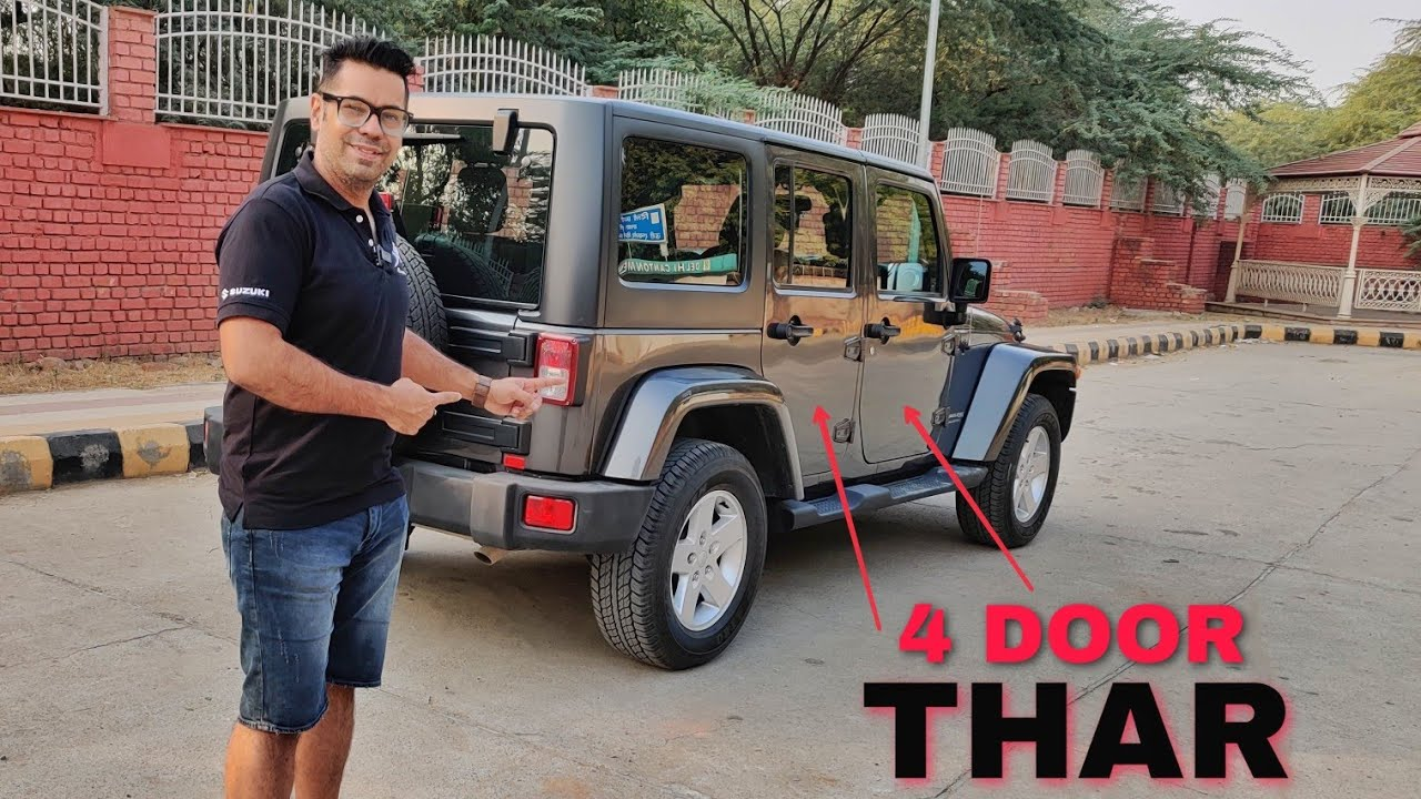 4 DOOR THAR - 1st time in INDIA 😱