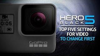 Video Top 5 Video Settings to Change on the GoPro Hero 5 Black download MP3, 3GP, MP4, WEBM, AVI, FLV Oktober 2018