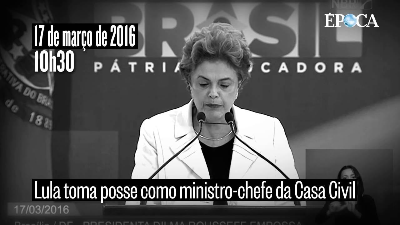 Lula na Casa Civil e áudio de Dilma com o ex-presidente agravam crise
