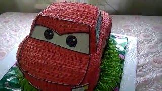 Торт машинка Маквин