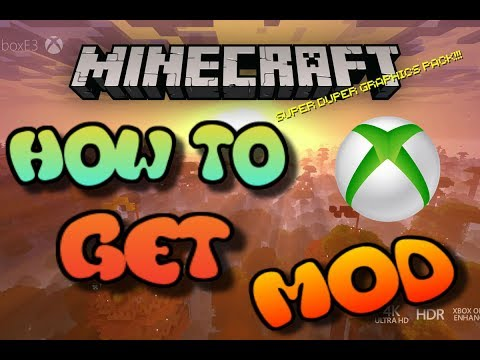 Minecraft XBOX 360/ONE HOW TO GET MODS?!