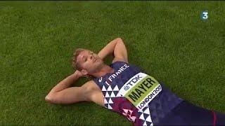 Mondiaux d'athlétisme : Kevin Mayer apporte la deuxième médaille d'or à la France en décathlon !