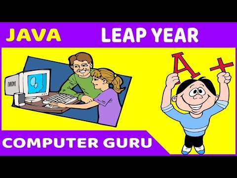 Java Programming Tutorial - 10 Leap Year with IF...ELSE & Conditional Operator thumbnail