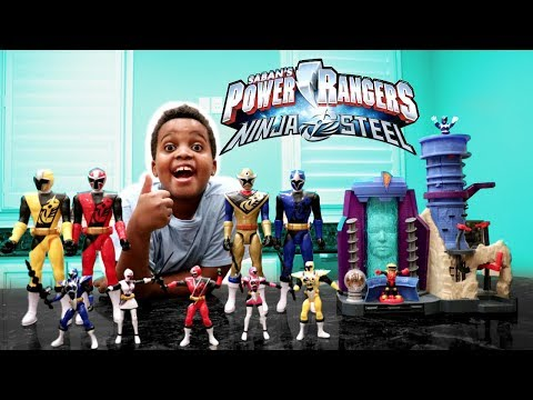 POWER RANGERS CHRISTMAS TOY SURPRISE!  Shiloh And Shasha  Onyx Kids