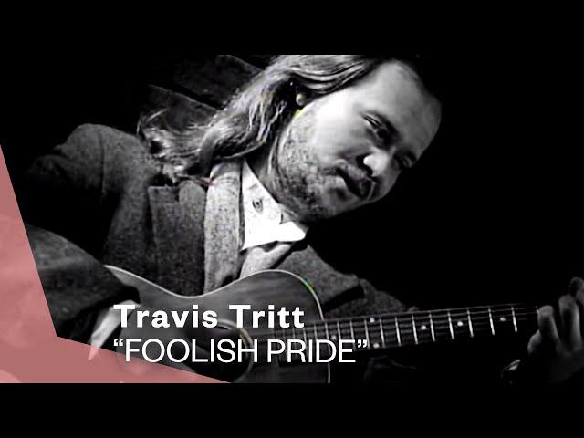 Travis Tritt - Foolish Pride (Single Version) (Official Music Video) | Warner Vault