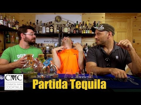 Partida Tequila, Blanco, Reposado and Anejo Review / Tasting