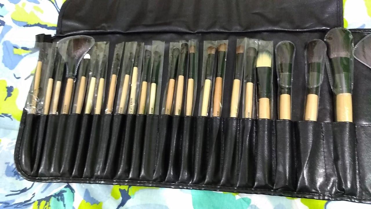 Makeup For You Brushes (24-piece Makeup Brush Set Review)