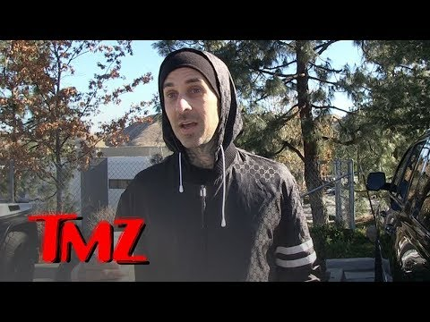 Travis Barker Tells Son the Lil Pump Face Tattoos Are Off Limits