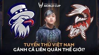 Tuyển thủ Việt Nam Gánh Cả Liên Quân Thế Giới?   Giới thiệu đội tuyển Bắc Mỹ và Nhật Bản   AWC 2019