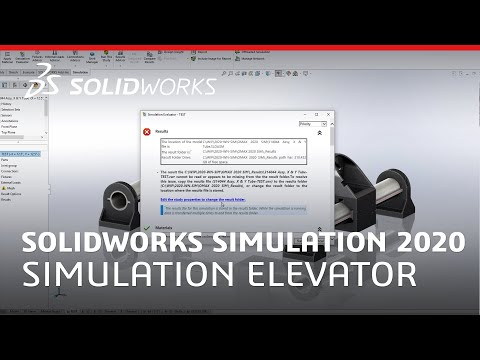 what's-new-in-solidworks-simulation-2020---simulation-evaluator