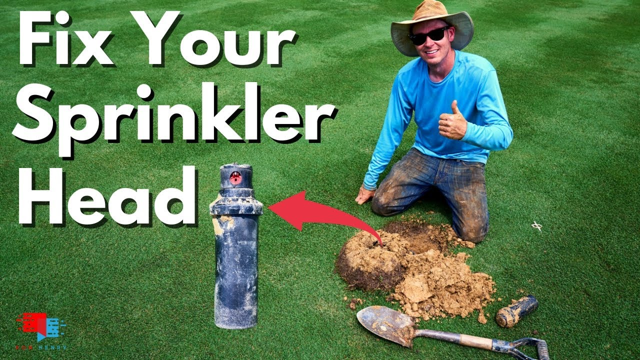 How to Replace and Adjust Lawn Sprinkler Heads by a PRO