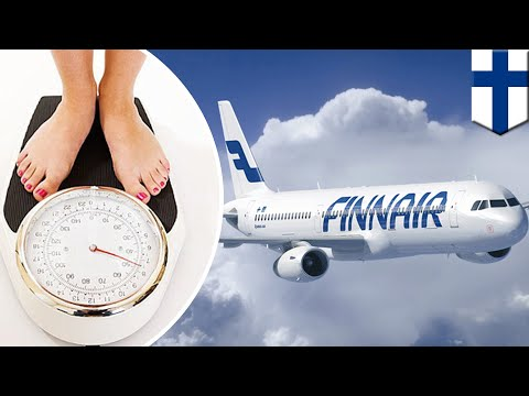 Finnair: Finland airline begins weighing passengers before flight at Helsinki airport - TomoNews